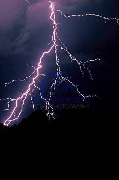 Lightening - Sonoran Desert Arizona -USA