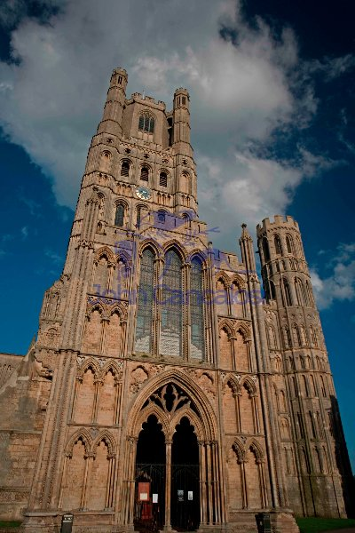 Ely Cathedral in Ely-Cambridgeshire-England-United Kingdom
