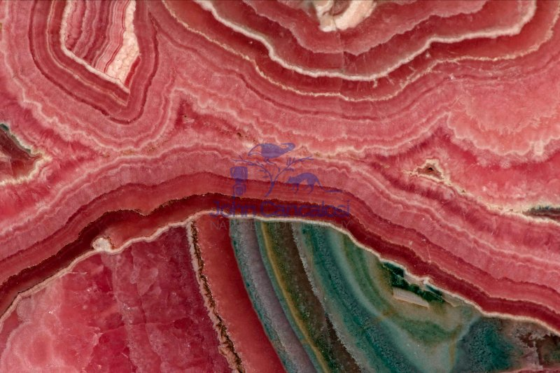 Rhodochrosite Cross section - Argentina