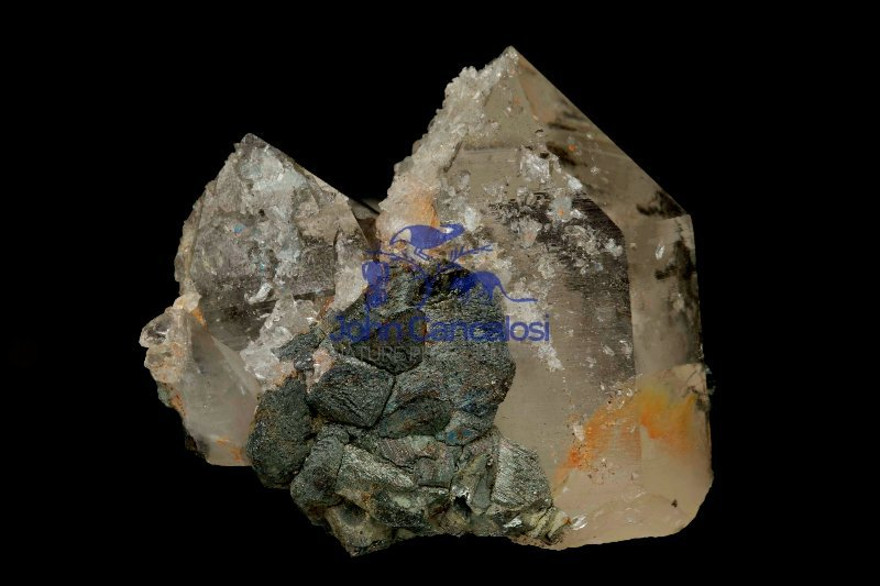 Stannite on Quartz - Yaogangxian mine - China