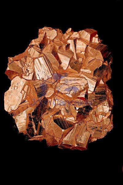 Pyrite (FeS2) - Iron Sulfide - Butte - Montana