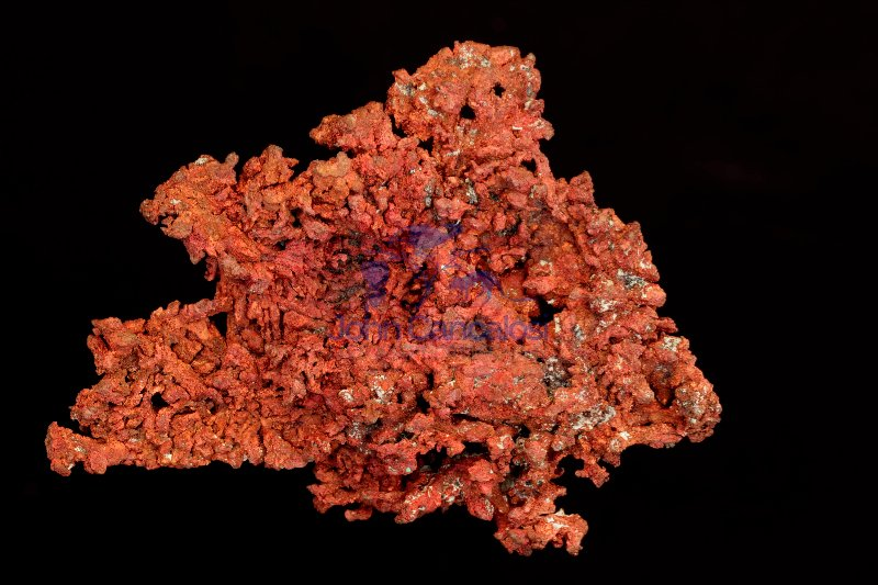 Native Copper - Cu - Ray Mine - Arizona - USA