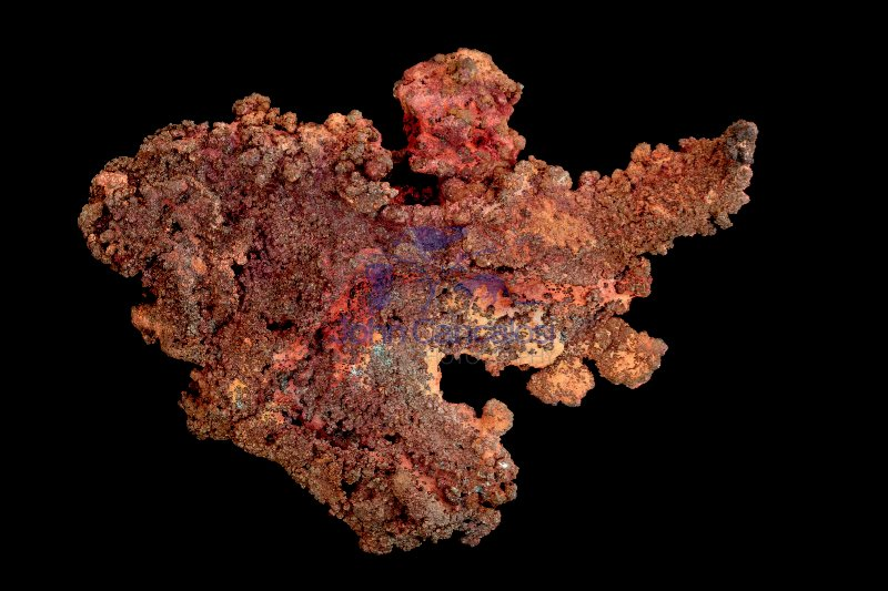 Native Copper - Cu - Bisbee - Arizona - USA