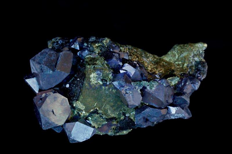 Chalcopyrite Galena Spalerite and Pyrite - Bulgaria