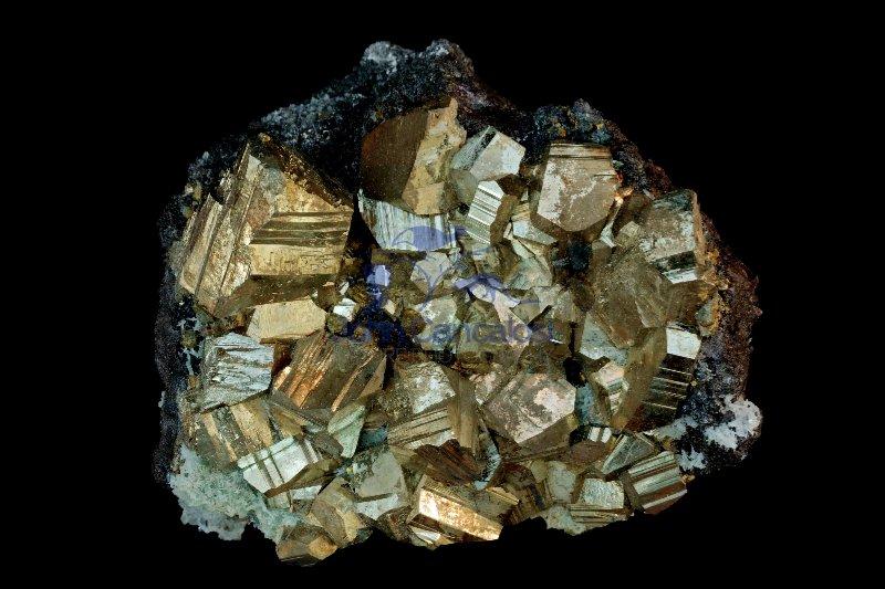 Pyrite - FeS2 - Iron sulfide - Bulgaria