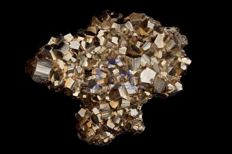 Pyrite (FeS2) - Mexico