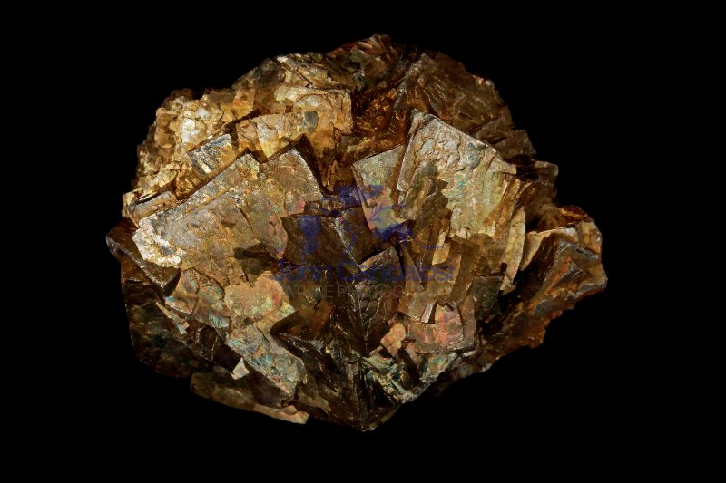 Pyrite  - Reynolds County Missouri - USA