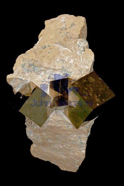 Pyrite (FeS2) - Spain
