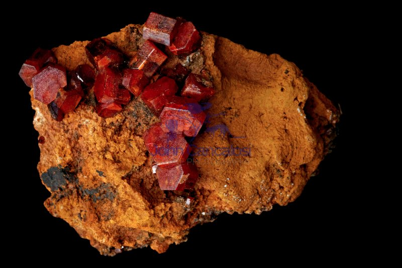 Vanadinite - Pb5(VO4)3Cl - Morrocco