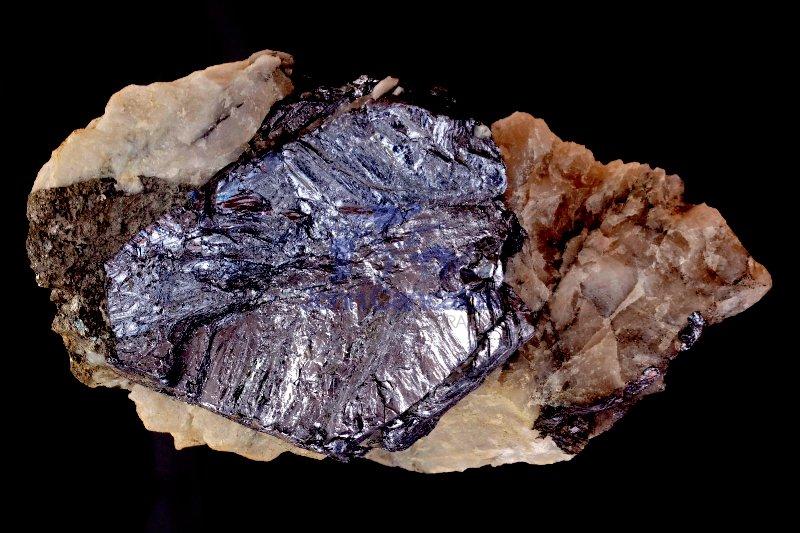 Molybdenite (molybdenum sulfite) - Australia- ore mineral of mol