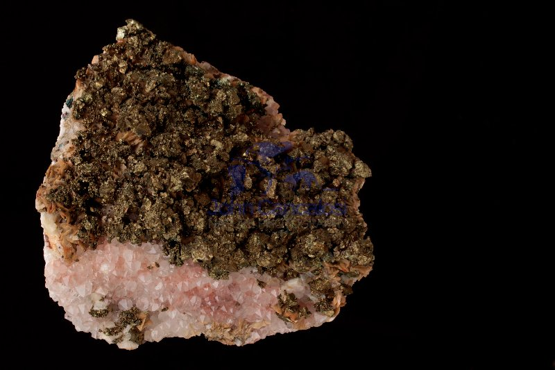 Chalcopyrite Calcite Siderite Quartz and Dolomite - Germany