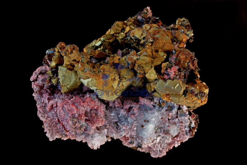 Chalcopyrite (CuFeS2) - China