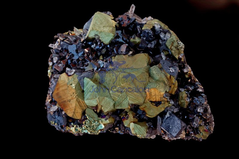 Chalcopyrite (CuFeS2) - Madan - Bulgaria