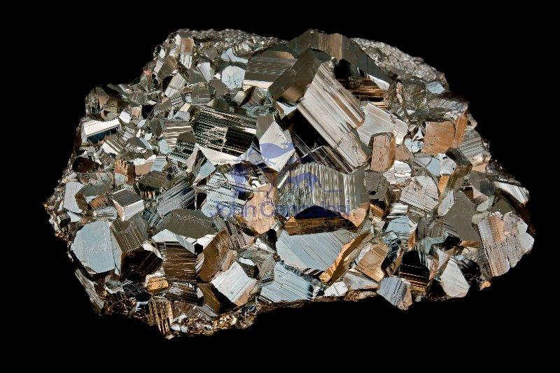 Pyrite (FeS2) - Peru