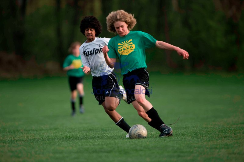 Boys Playing Soccer -  USA