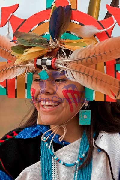 Hopi Girl - Hopi Reservation - Arizona - Model released