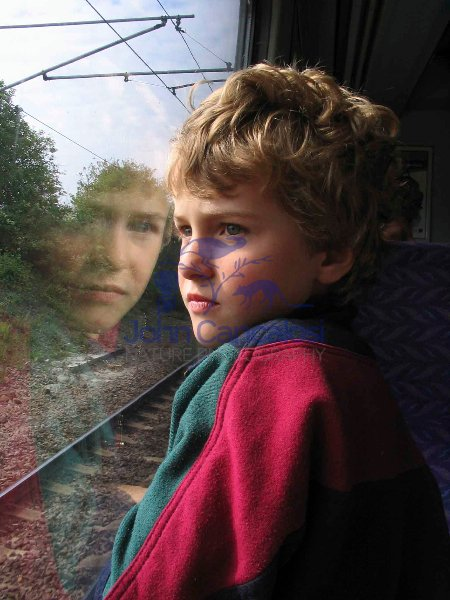 Boy on Train - UK