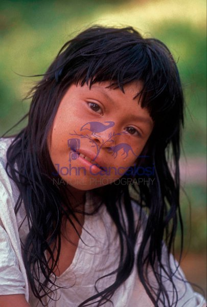 Boy -  LaCandon Maya - Chiapas Mexico