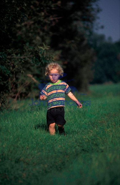 Small Boy Walking - UK -