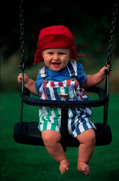 Baby Boy in Swing - UK