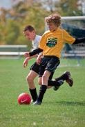 Boys Playing Soccer -  USA
