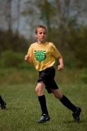 Boy Playing Soccer -  USA
