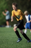 Boy - Age 12 - Playing Soccer -New York - USA