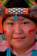 Hopi Girl - Hopi Reservation - Arizona - Model released