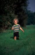 Small Boy Walking - UK -
