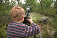 Child taking photos-Pennsylvannia-model released