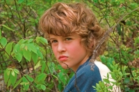 Boy in Woods - Age 10 - Pennsylvannia - USA