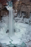 Taughannock Falls Frozen - Taughannock Falls State Park - New Yo