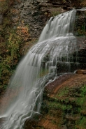 Waterfall -Lucifer Falls -Near Ithaca New York