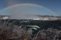 Niagara River With Rainbow - Above Horseshoe Falls - Canada